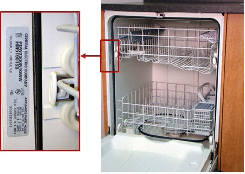 Dishwasher recall