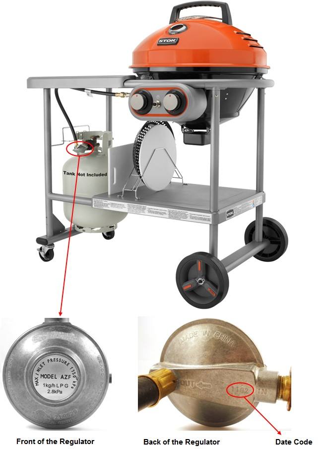 Stok gas grill recall details