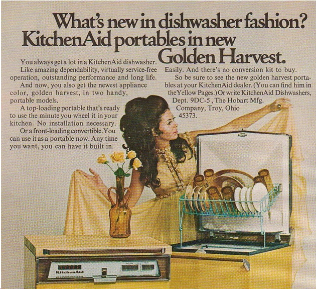 70's Appliances – Do You Remember Harvest Gold?